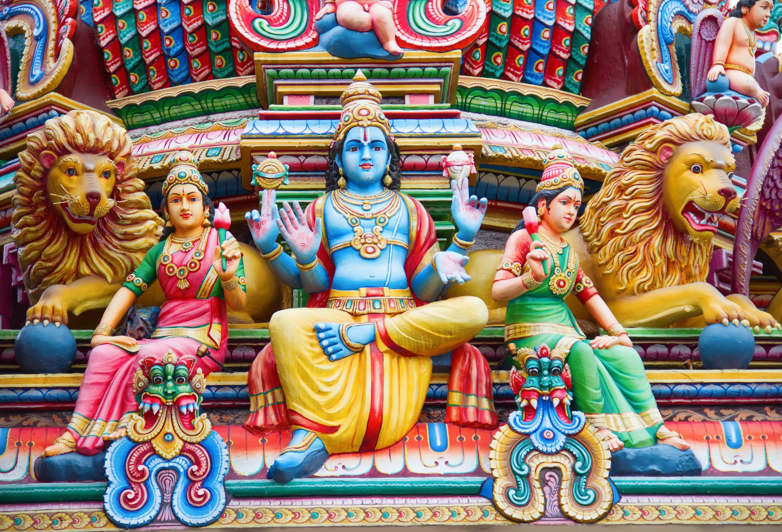 Hindu temple decoration