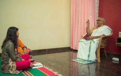 A luminous study together – learn saha nāvavatu