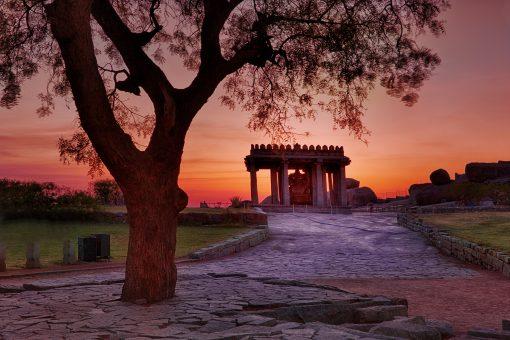 Ganesha temple in Hampi Karnataka